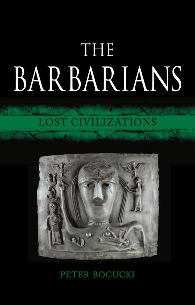 """Cover of the book """"The Barbarians"""""""