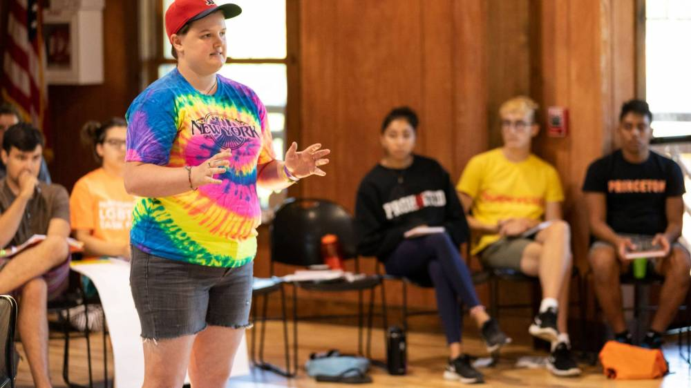 DDA student facilitator T.J. Smith