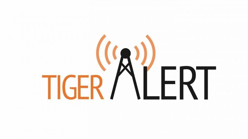 """TigerAlert"" graphic"