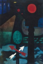 """""""Stop Light,"""" 1943. Oil on canvas, 32 x 23"""". Collection of Paul Shank."""