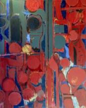 """Grand Palais, 10-70 (2),"" 1970. Oil on canvas, 72 x 58"". Estate of Arthur Osver and Ernestine Betsberg."