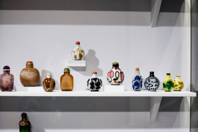 Chinese snuff bottles, Hearst Museum