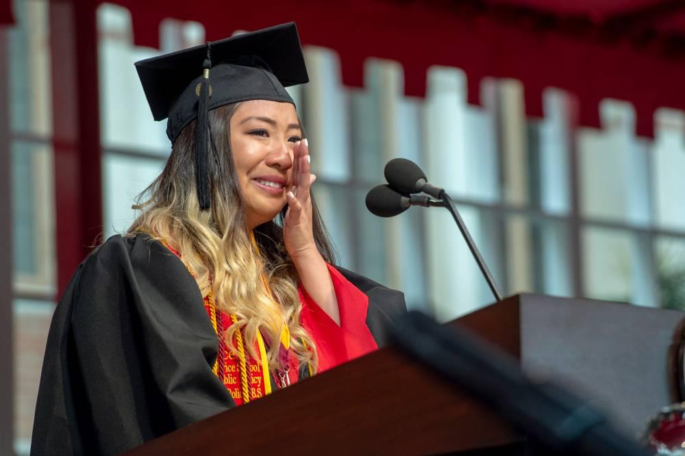 USC valedictorian Ivana Giang