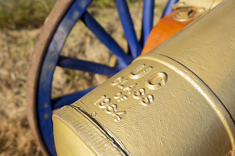 The cannon was a gift from the Class of 1964