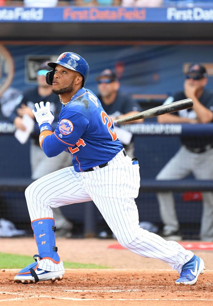 The Mets acquired second baseman Robinson Canó in an off-season trade with the Mariners. He is an eight-time MLB All-Star, five-time Silver Slugger Award winner and two-time Gold Glove Award winner. He was the 2017 All-Star Game MVP and the 2011 Home Run Derby winner.