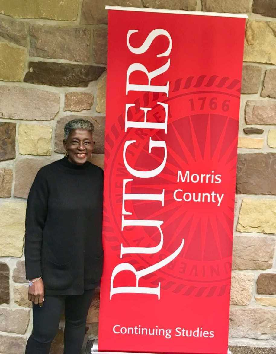 Denise Washington returns to Rutgers through a unique partnership program with community colleges.
