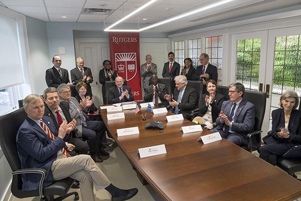 Rutgers Today - Botswana Partnership Signing