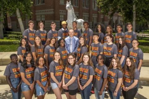USC provost military family scholarship