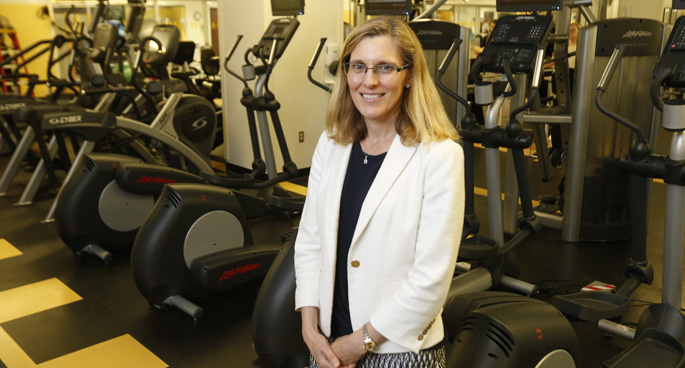Kristin Archer, PhD, DPT, directs the new Center for Musculoskeletal Research.