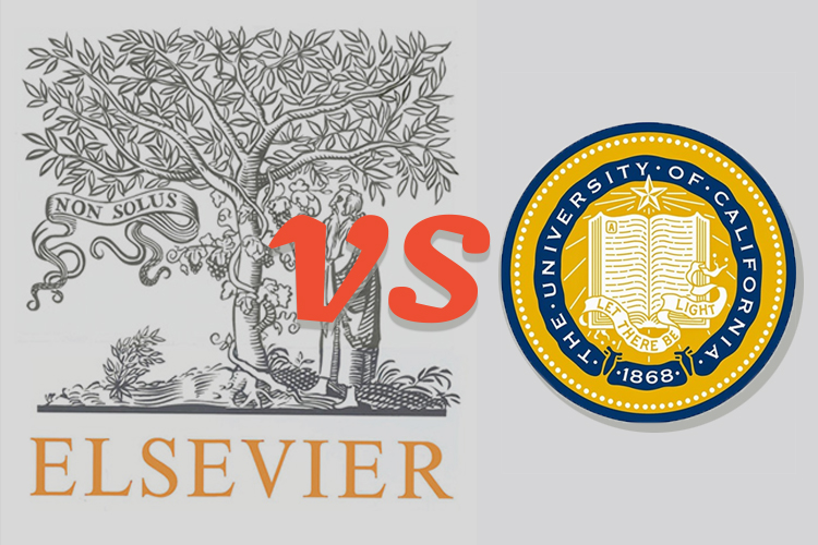 Elsevier and UC logos
