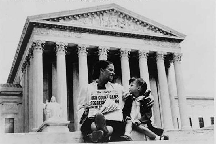 Mother and daughter discuss Supreme Courts 1954 segregation ban in public schools