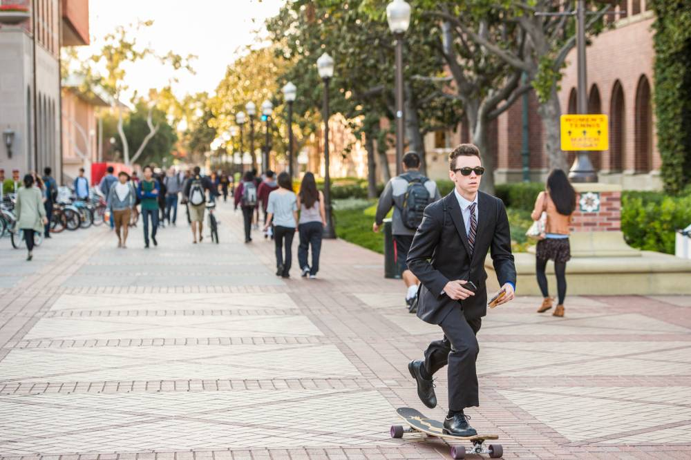 Trojan life: Skateboarding in suits