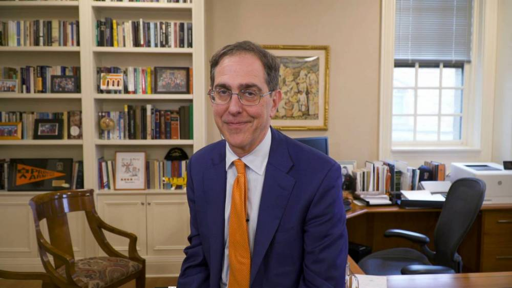 President Eisgruber welcomes the Class of 2023
