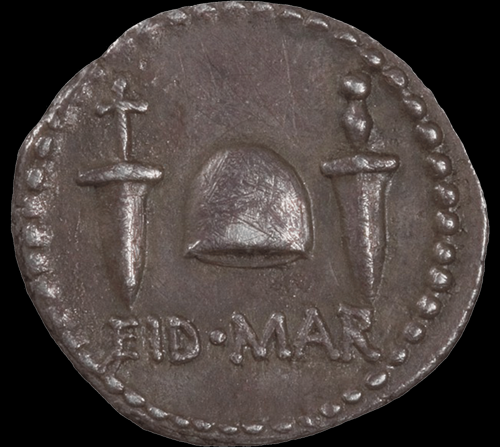 Coin with daggers