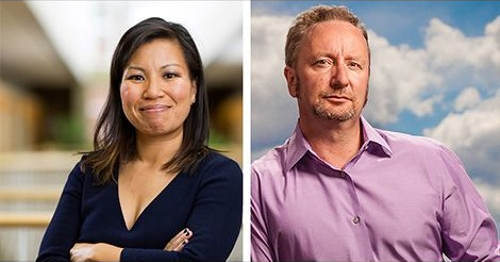 Carrie Nordlund and Mark Blyth