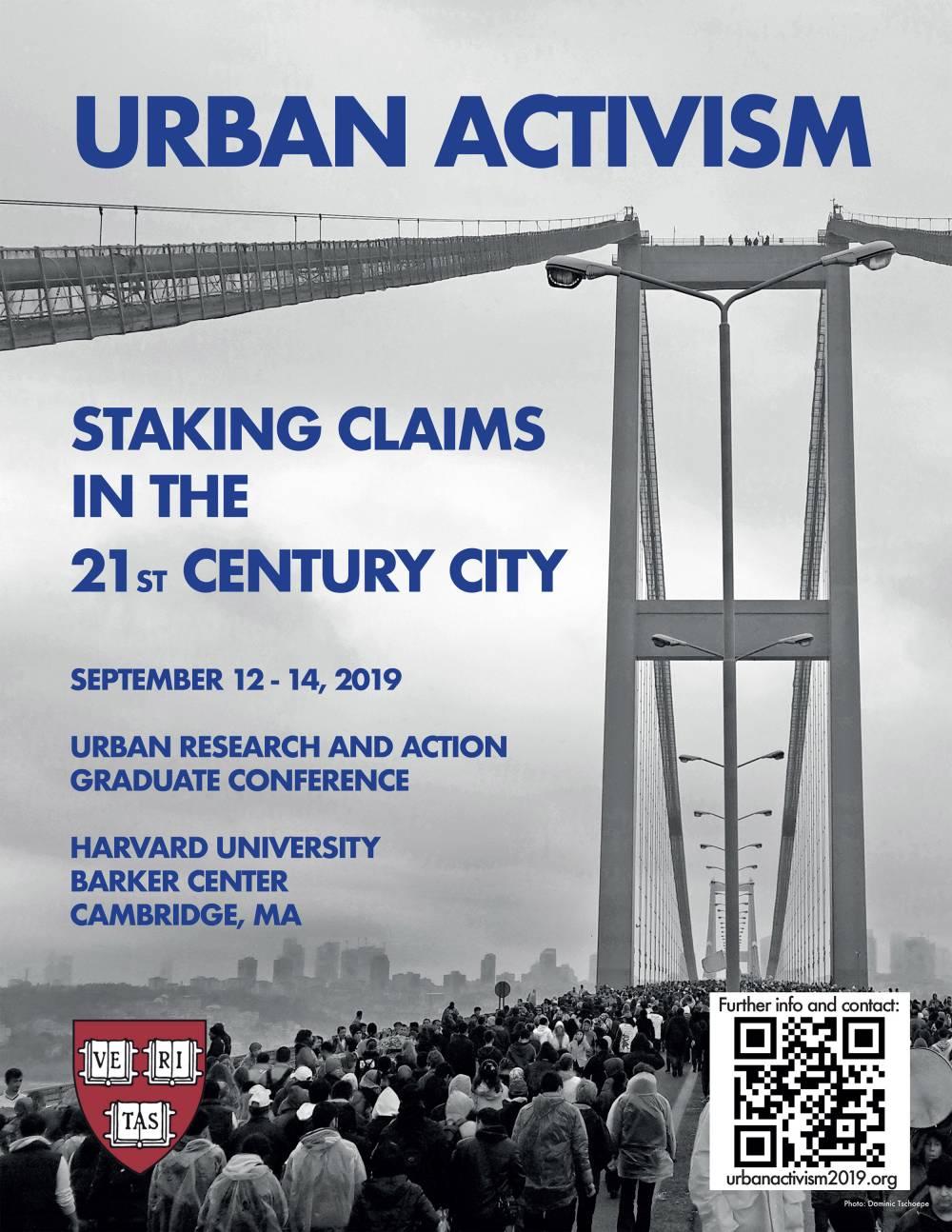 Urban Activism flyer