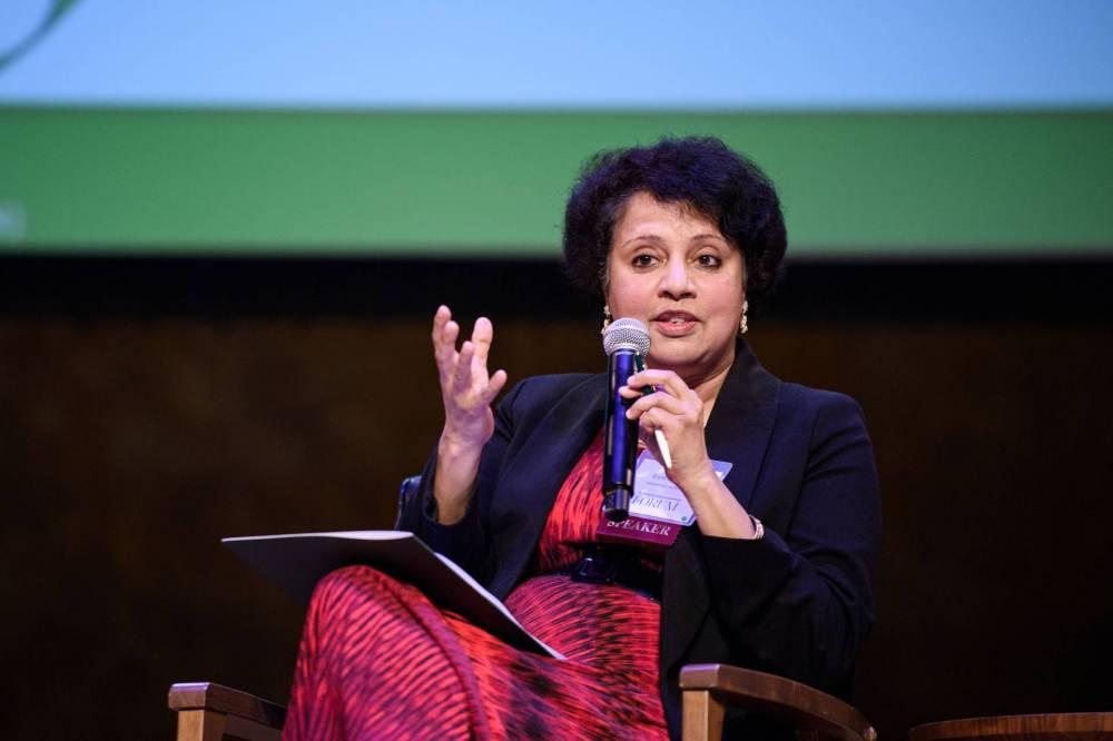 Anu Ramaswami speaking