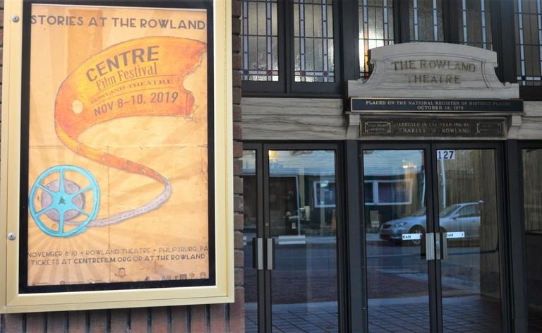 Centre Film Festival poster