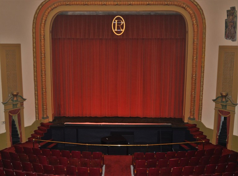 Rowland Theater stage