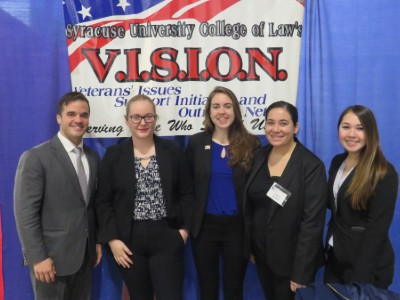 Law students at VALOR Day 2018