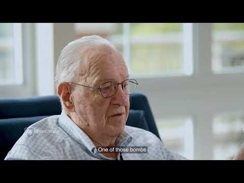 World War II navigator talks about his 31 missions
