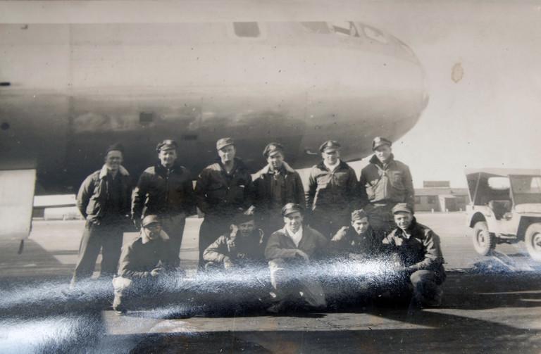 Plane and crew