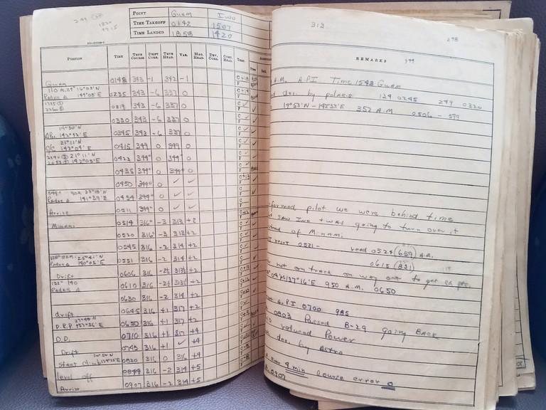 Writing in navigator log