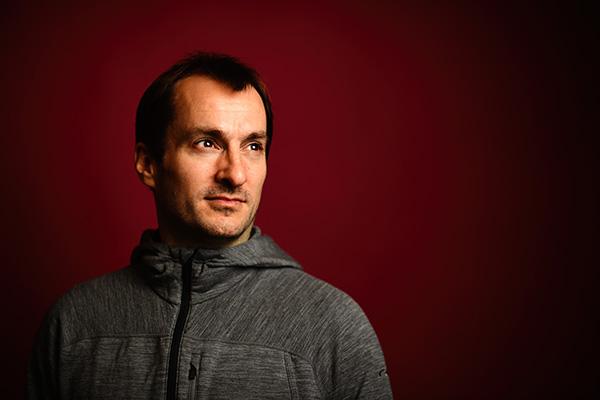 Portrait of Aron Stubbins