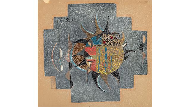 image for 'Design for Mosaic' by Turkish artist Eren Eyüboğlu