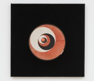 "Marcel Duchamp, ""Rotoreliefs,"" 1935/1953/1959. Twelve offset lithographs on six cardboard disks, velvet-covered board, and electric motor. Published by Edition MAT, Paris. Courtesy of the Kunstmuseen Krefeld, Germany. © Association Marcel Duchamp / ADAGP, Paris / Artists Rights Society (ARS), New York, 2019. (Photo © Kunstmuseen Krefeld– Volker Döhne–ARTOTHEK.)"