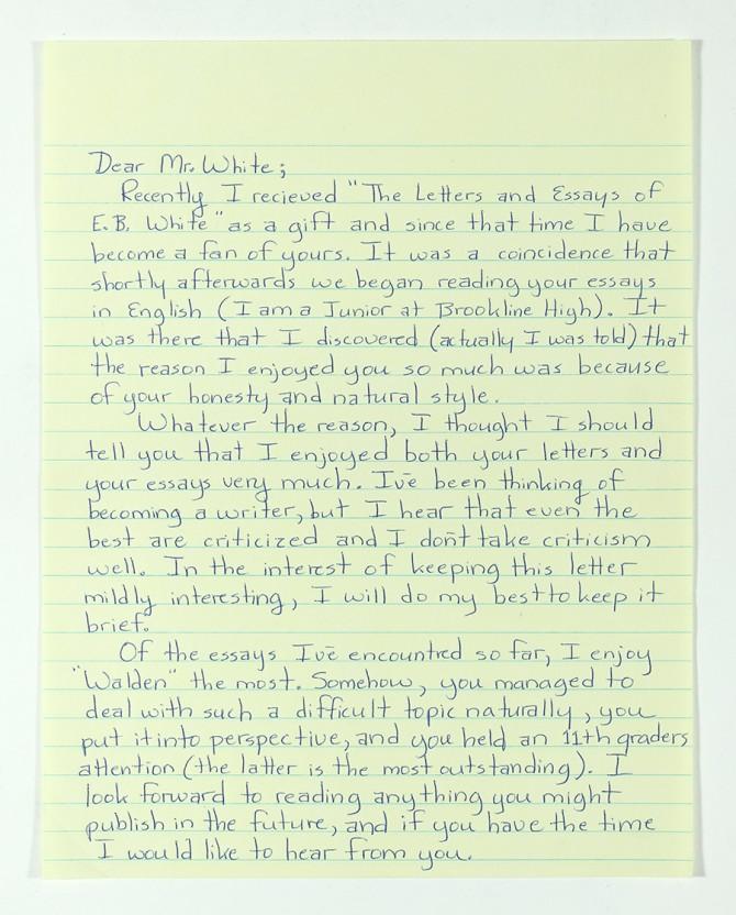 Conan letter Part #1