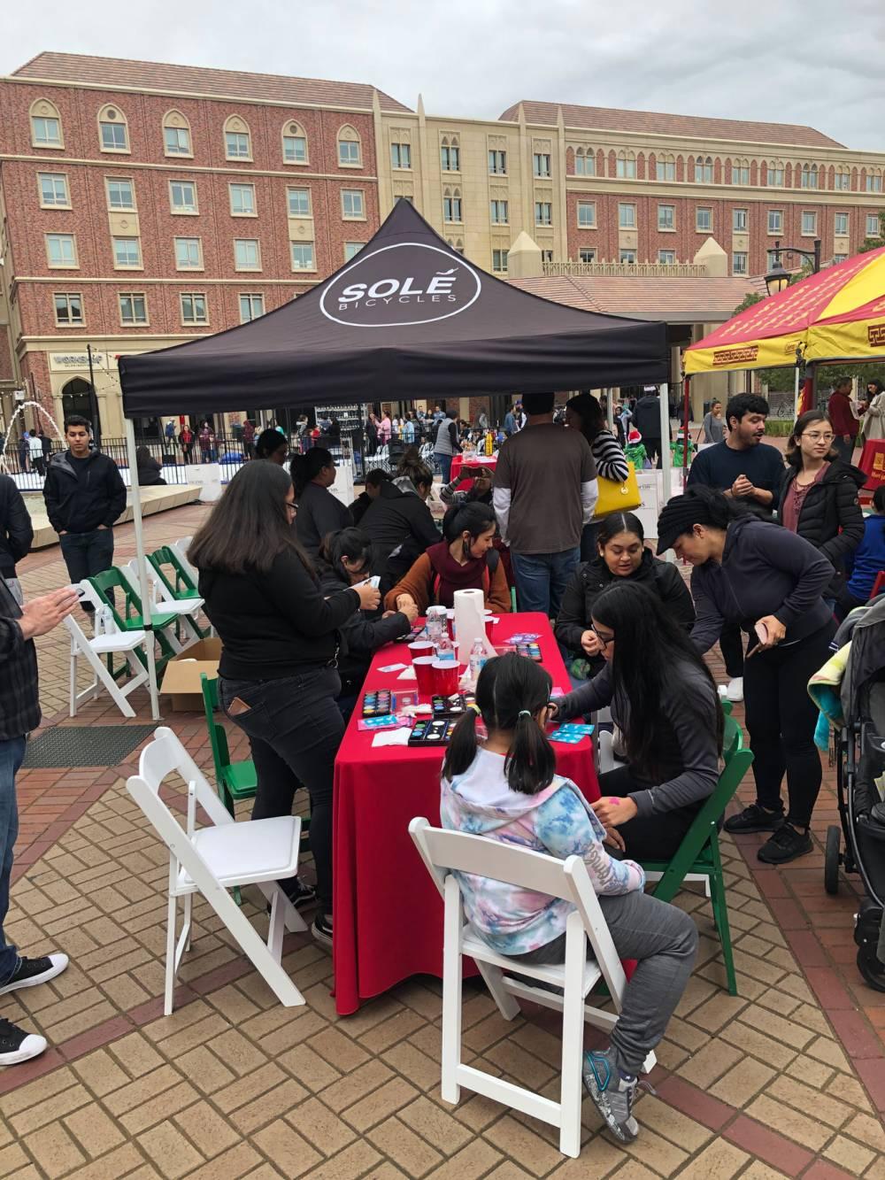 winter festival USC Village