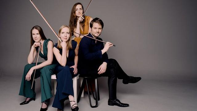 Amsterdam's Dudok Quartet returns to the Winter Chamber Music Festival Jan. 19, 2020. ©-Marco-Borggreve