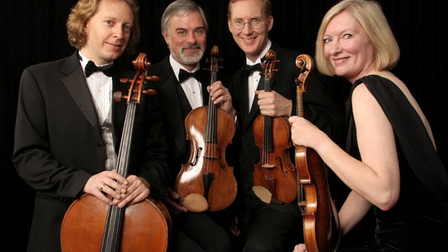 American String Quartet with mezzo-soprano Stephanie Blythe close the Winter Chamber Music Festival Jan. 26, 2020. Photo by Peter Schaaf.