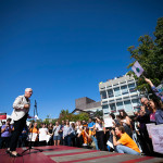 Gina McCarthy speaks at Climate Rally