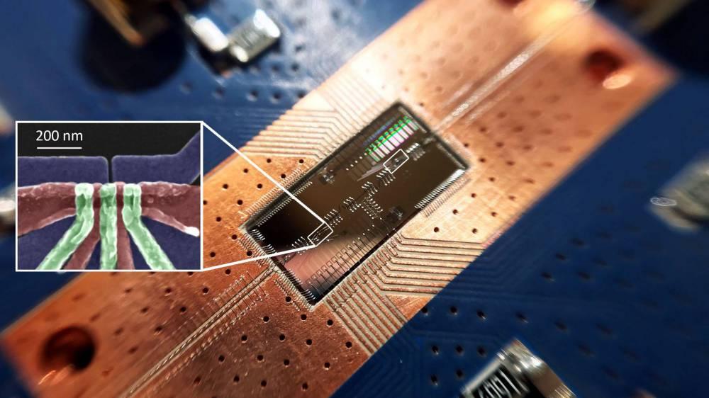silicon-spin quantum bit