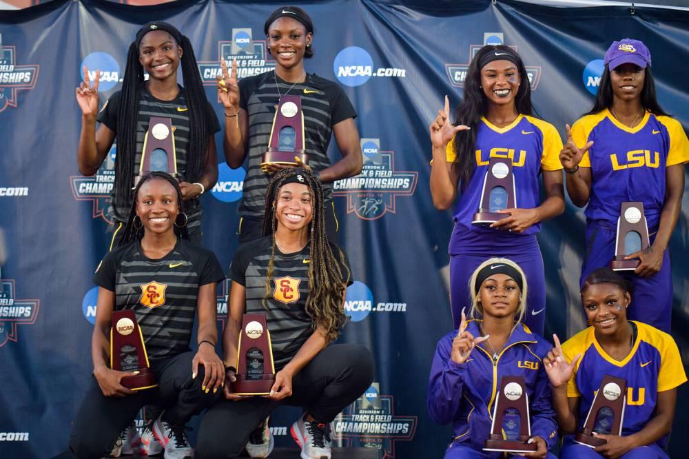 Women's track standouts 2019 USC