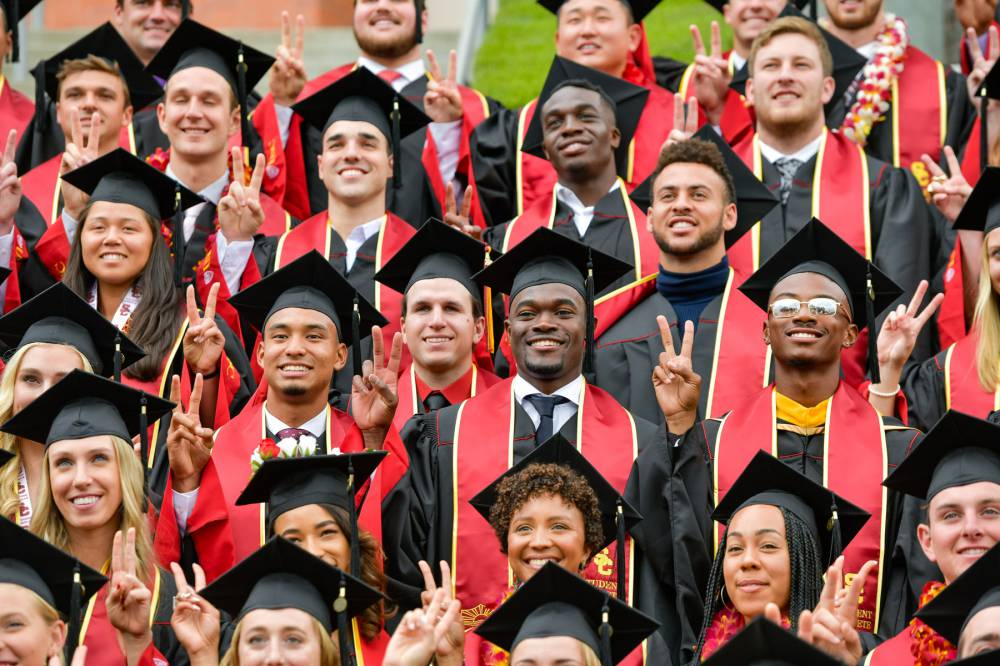 USC student athletes 2019