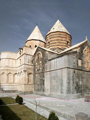 Armenian Monastery of Saint Thaddeus, a cultural heritage site in northwestern Iran.