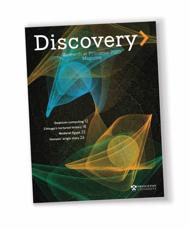 Cover of Discovery magazine