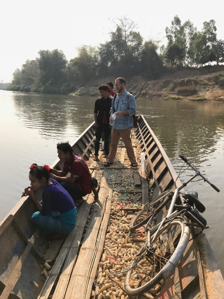 An infectious disease epidemiologist and a demographer in the field of global health, Parker travels to a remote part of Myanmar's Kayin State to meet with participants in a detailed mapping study.