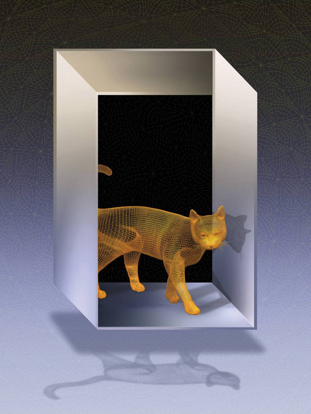 Schodinger's cat walks through an impossible door