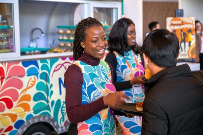 Nyasha Mudukuti and Modesta Abugu