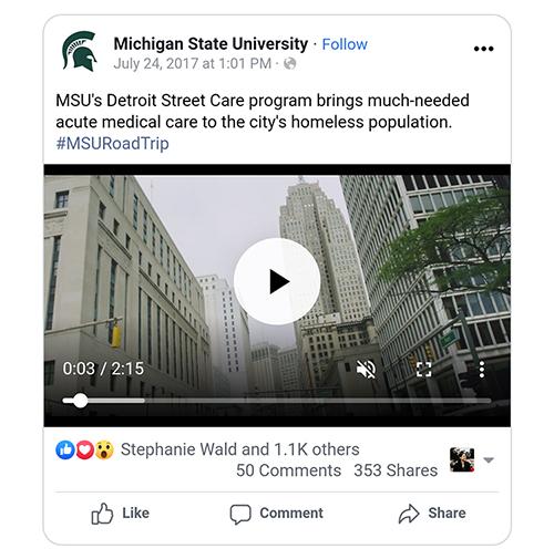 MSU Detroit Street Care