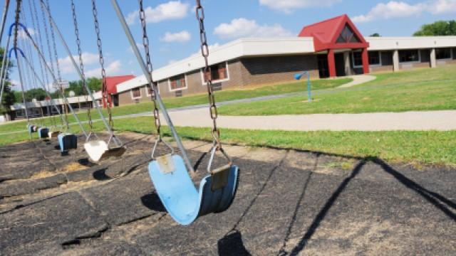Photo of a playground