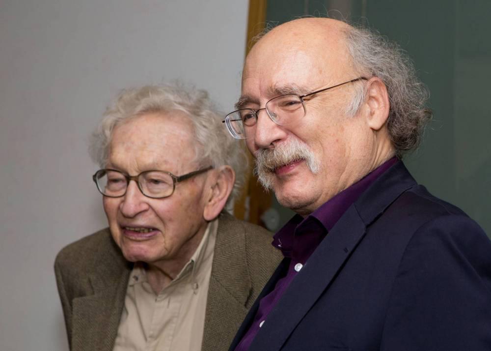 Philip Anderson and F. Duncan Haldane