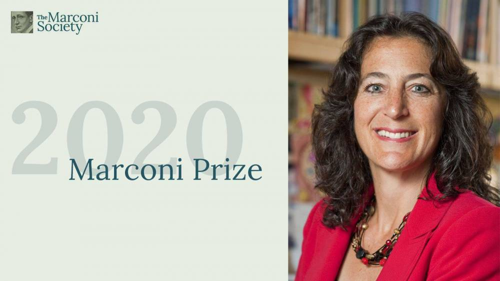 Andrea Goldsmith, winner of the 2020 Marconi Prize