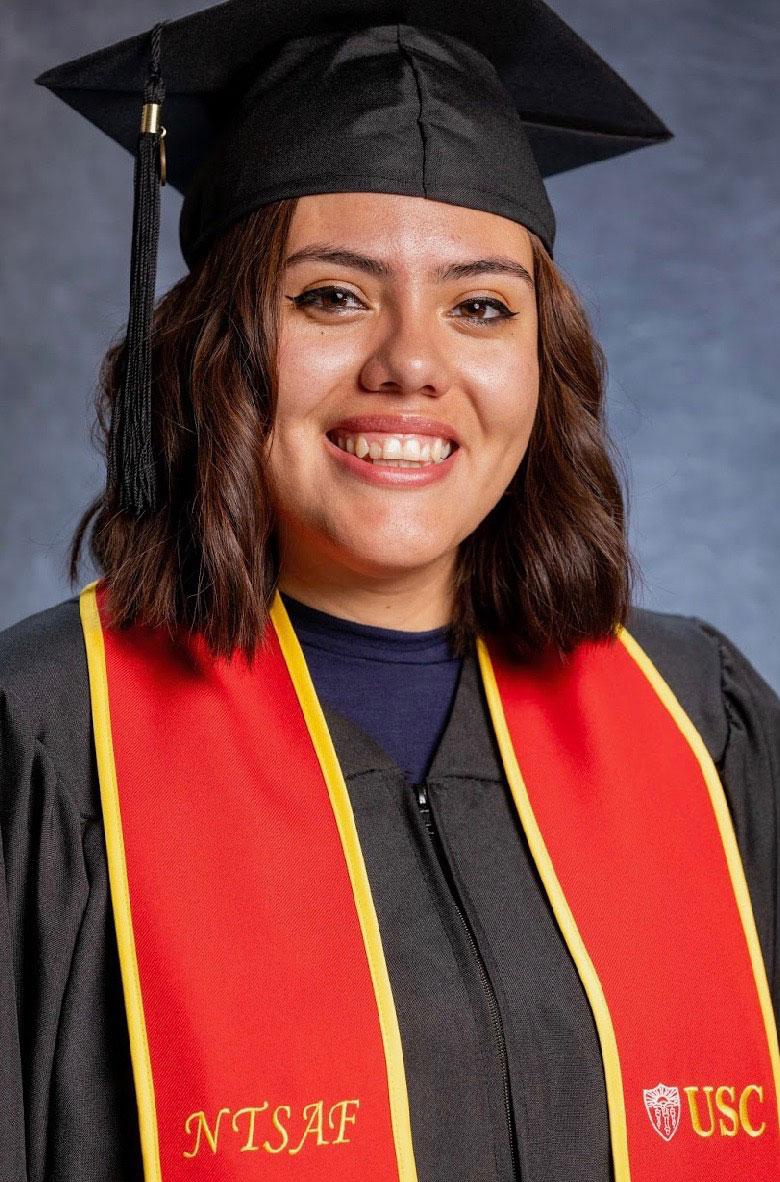 Maria Del Pilar Morales first gen USC