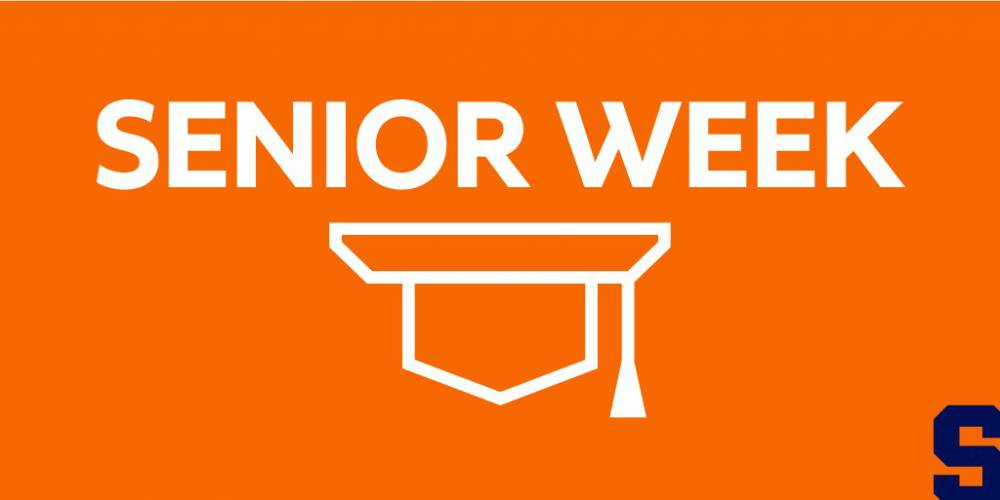Senior Week graphic