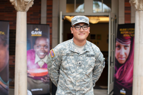 Justin Lee USC ROTC